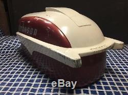 1957 Johnson Sea Horse 35 HP Outboard Motor Cowl Hood Shroud Vintage