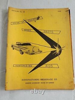 1958 Manufacturers Brokerage CatAlog HOT ROD & Custom Drag Racing nhra Gasser