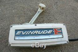 1960'S Evinrude Selectric Throttle Control Box Vintage Boat Motor PARTS REPAIR