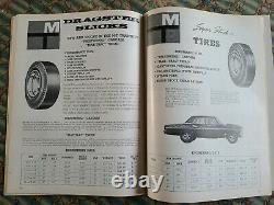 1964 MICKEY Thompson CATALOG and How To Handbook Drag Racing Hot Rod HeMi vtg MT