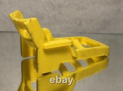1972 Vintage Fisher Price House Boat Parts Yellow Lounger/ Loose/ Pre Owned