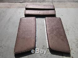 1974 Silverline Comoro Vintage Boat Bow Seat Cushions