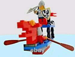 1990 Vintage Lego Complete Set 6018 Battle Dragon Ship Over 40 Parts 2 Figures