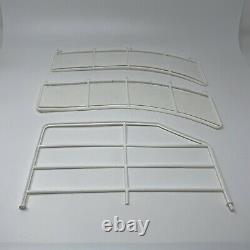 1992 Barbie Dream Boat Replacement Parts Pieces White Railings Only