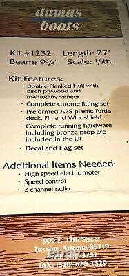 1992 partial Chris Craft cobra model kit box+++parts speed boat Hobbyist