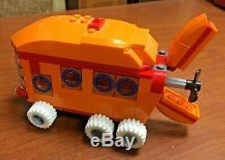 2 Vintage Lego Sponge Bob Square Pants Boat Car For Parts or Repairs