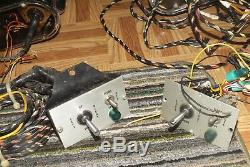 2 Vintage SPARTON Marine Boat Spot Search Lights & Controllers Wiring Ship 475
