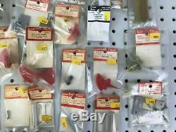 40pc Vintage DUMAS BOATS RC Parts Props Hardware Gears Shaft Fin Trim Mount etc