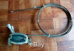 Antique Scott Atwater Shift & Throttle controller with 10' Cables