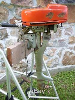 Antique Vtg 1946 ELGIN SEARS ROEBUCK & Co OUTBOARD MOTOR WICO Flywhwheel