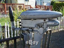 Antique Vtg 1946 MERCURY KD-3 COMET DELUXE Outboard Boat Engine Motor NOT TESTED