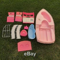 Barbie Vintage Dream Boat 1992 Mattel Toy Doll Pieces Parts Blender Pool Ship