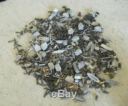 Big Lot of Vintage Lead Model Ship Parts Small Boats Cannons Planes Trim #3