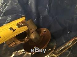 Boat Chris Craft Throttle LEVER CONTROL BINNACLE Chrome BRASS VINTAGE Marine
