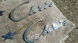 Chris Craft Emblems vintage chrome metal