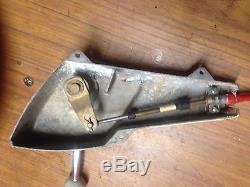 Chris Craft Morse Control Shifter Throttle Vintage D Kxpz on Quicksilver Boat Throttle Control Parts