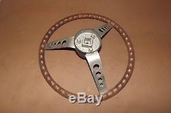 DL6C12483 Used Vintage Boat Steering Wheel Ride Guide 76125