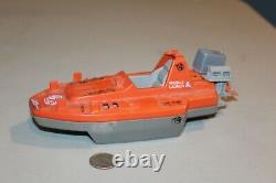 Devilfish Boat 1986 Gi Joe Cobra VTG Vehicle Hasbro parts Lot motor cover decals