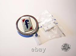 Emblem Ornament Original Pininfarina Fiat 124 SPIDER Trunk Lid Bonnet N
