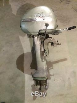 FIRESTONE 7 1/2 HP outboard boat motor vintage marine complete engine Atwater