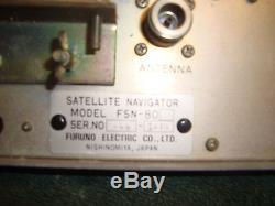 Furuno FSN-80Vintage SatNav Satellite Navigator Marine Radar System