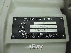 Furuno RG-12/U Type D Vintage Marine Boat Coupler Unit