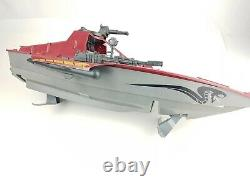 GI Joe Cobra Moray Hydrofoil 1985 Vintage Boat Incomplete Parts Or Repair RARE
