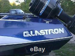 Glastron Boat Side Decal Set Sticker Vintage Trailer Restoration Parts Outboard