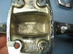 Group of Boat Cleats, Vintage, Chrome Used Boat Parts, Nautical