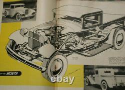 HOT ROD MAGAZINE 1952 34 fORD pICKUP SCTA Lakes Racing MoTorAMA 32 Roadster vTg