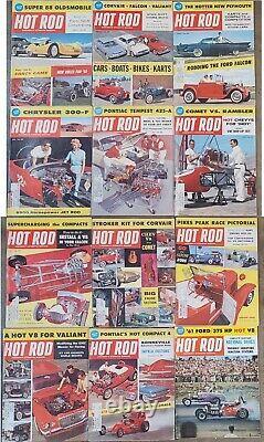 HOT ROD MAGAZINE 1960 nHRa DRAG RACING Bonneville 1932 Ford Flatead vtg old auto