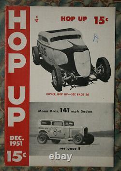 Hop Up Magazine #5 1951 El Mirage Hot Rod 34 Ford Flathead Moto Guzzi Hudson Vtg