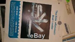 Huge 28 lb Vintage Boat Parts Catalog 70s 80s 100+ pcs lot #26