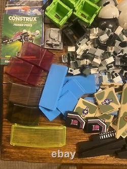 Huge Lot Fisher Price Construx 350+parts Space Boat 582 587 582 585 Figures 5+lb