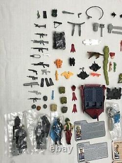 Huge Vintage GI Joe Figures + Accessories + Parts Lot