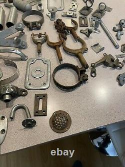 Huge lot of vintage boat parts! /Lyman boat parts/Marine nautical decor