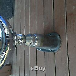 Iva-lite 8 marine spot light brass plated vintage chris craft swivel adjustible