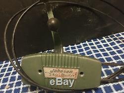 Johnson Evinrude OMC Remote Control Box Vintage Dual Lever