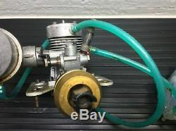 Kyosho Jet stream 1000 Engine & Parts Nitro GT Servos Propeller Rc Vintage Boat