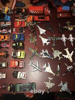 LARGE LOT 100+ GALOOB VINTAGE MICRO Machines Planes, Cars, Trucks, Boats Parts
