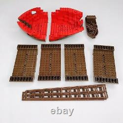 LEGO 6286 Skull's Eye Schooner Parts Only Incomplete Sails Boat Hull Instruction