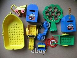 LEGO FABULAND vintage parts yellow boat 4793 1516 3633