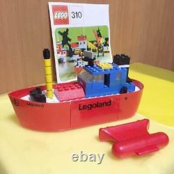 LEGO Town 310 Tug Boat Vintage Original Parts complete