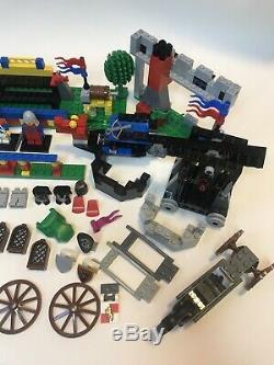 LEGO Vintage Castle Lot Minifigures, Dragon Parts, Horses, Weapons, Boats