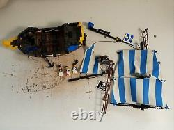 Lego 6274 Caribbean Clipper Vintage Pirate Ship Boat Parts Pieces Incomplete