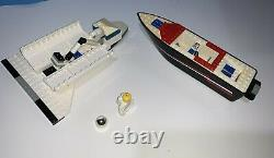 Lego Riptide Raver Speed Boat 4002 & Space Shuttle with Figure Parts Only