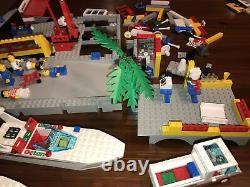 Lego Sail N' Fly Marina 6543 Classic Town Harbor lot of parts boats, marina