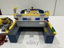 Lego Set 60095 & 60093 Deep Sea Exploration Sub & Boat Hull Parts Incomplete