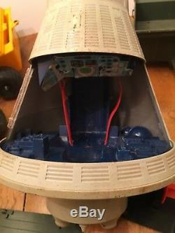 Lot Vintage G. I Joe 1960's 60's Boat Space Capsule Trailer Vehicle for Parts