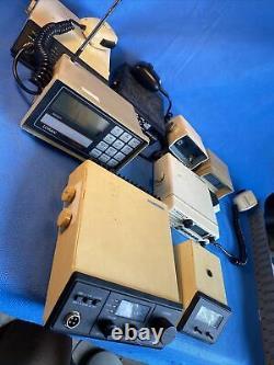 Lot of 8 Vintage Uniden, Loran, Capree Marine Boat Radios For Navigation Parts